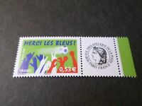 FRANCE 2006 timbre PERSONNALISE' MERCI LES BLEUS / CERES, neuf**, FOOTBALL, MNH