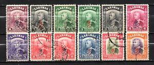 Sarawak very nice mixed older era collection,stamps as per scan(10323)