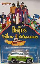 Hot Wheels CUSTOM SURF 'N TURF The Beatles Yellow Submarine RR LTD 1/25!