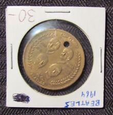 1964 BEATLES Visit The United States Commemorative Coin Token VG 4.0