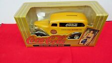 ERTL COCA COLA DIE CAST METAL BANK CHEVY DELIVERY TRUCK 1995 ISSUE IN BOX- NICE