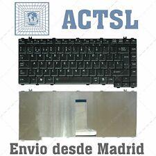 6037b0028517 TECLADO ESPAÑOL KEYBOARD SPANISH BLACK TOSHIBA SATELLITE
