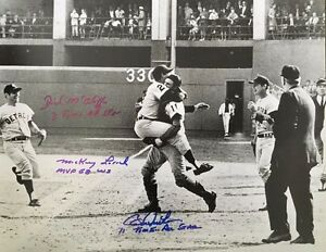 Bill Freehan, Mickey Lolich & Dick McAuliffe Signed Photo