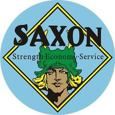 "Saxon Service  25 1/2"" HUGE Heavy Metal Workshop Garage Man Cave Oil"