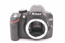Nikon D3200 24.2MP Digital SLR Camera - Black (Body Only) Shutter Count: 5415