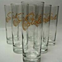 Stolichnaya Vodka Longdrink Gläser Set (6er)  mit Logo |Neu