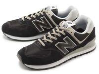 NEW BALANCE 574 Classic Scarpe Uomo Sneakers  BLACK  ML574EGK