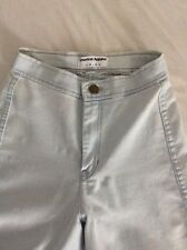Women's American Apparel high waisted light blue easy jeans size xs