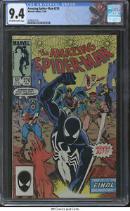 Amazing Spider-Man #270 1985 CGC 9.4 - Avengers apps & #96 cover homage
