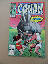 Conan The Barbarian 210 . Marvel 1988 . FN +