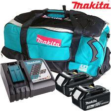 Makita 2 X BL1830 Batería + Cargador DC18RC + Bolsa De LXT600 para DTD152Z, DTD154Z