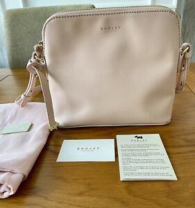 Radley Millbank Cross Body Blush Pink Bag