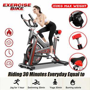 Heimtrainer Fitness Fahrrad Hometrainer Ergometer Indoor Trimmrad Bike bis 150kg