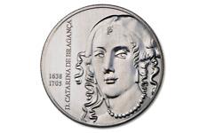 5 euros moneda especial 2016 Portugal Catalina de Braganza banco recién UNC