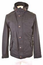 ESPRIT Mens Parka Jacket Size 40 Large Black Cotton  JV01