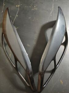 Rare Vauxhall ( Opel ) Astra G MK4 Light Brows Headlights Covers Eyebrows Tuning