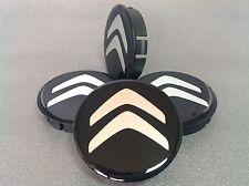 CITROEN Cache Moyeux Centres de Roue Silicone Emblem 4p x 60mm/55mm  *NEUF*