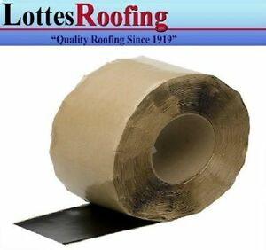 """1 - roll 6"""" x 100' EPDM Rubber Flashing tape P-S THE LOTTES COMPANIES"""