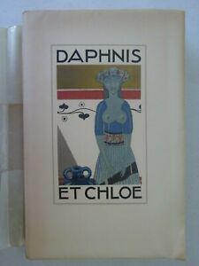 LONGUS, SAUVAGE (Sylvain). Daphnis et Chloé. 1925 + dessin