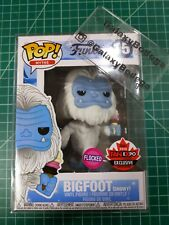 Funko POP Myths Flocked SNOWY BIGFOOT Canadian Convention exclusive #15 mint