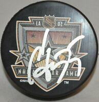 Sergei Gonchar Washington Capitals Autographed 2002 NHL All-Star Game Puck COA