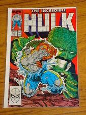 INCREDIBLE HULK #342 VOL1 MARVEL COMICS MCFARLANE APRIL 1988