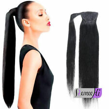 Remeehi Straight Human Hair Clip In Ponytails 100g/120g Human Hair Extensions