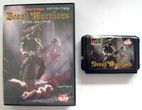 RARE : BEAST WARRIORS (JAP) MEGADRIVE - jeu / Great game for Sega Mega Drive
