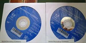 Adobe Photoshop Elements 8 PC/Mac Disc Version  - New