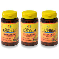 Jalea Real 1000 mg 60 Cápsulas -nature Essential- (energia)