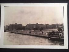 7/10/37 Rutger's Park Harlem River Manhattan NYC Vintage Old Original Photo T156