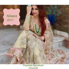 Designer label Bollywood Saree Indian Pakistani