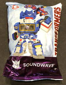 Wendy's Restaraunt Transformers Soundwave Toy New 2019 Hasbro