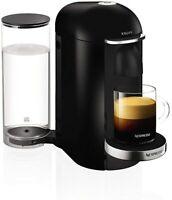 Nespresso Pod Coffee Machine, Krups, Vertuo Plus, Black
