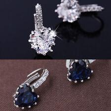 Fashion Women Girl Crystal Rhinestone Ear Stud Hoop Earrings Lady .Jewelry Gift*