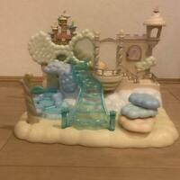 Sylvanian Families MISTY FOREST OASIS-SKY CASTLE F-13 1998 CALICO CRITTERS Epoch