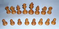 gift Antique vintage retro decorative attractive desirable wooden chess pieces