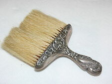 Antique Art Nouveau Victorian Sterling Silver Table Vanity Hat Clothing Brush