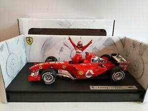 F1 Ferrari F2004 7eme Titre World Champion 2004 1/18+ Figurine