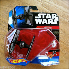 Disney STAR WARS Hot Wheels TIE FIGHTER #8 diecast starship FIRST ORDER Force Aw