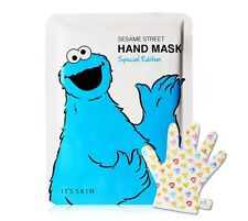 [It's skin] Sesame Street Hand Mask Special Edition Hand Cream treatments mask