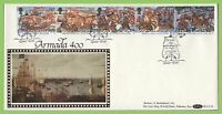 G.B. 1988 Armada set on Benham First Day Cover, Dover Kent
