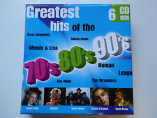 VARIOUS # Greatest Hits Of the 70's 80' 90's # NM (6CD)