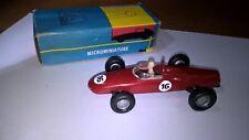 POLITOYS N.57 FERRARI 156 F1 1/41 plastica col.Rosso con scat.originale.