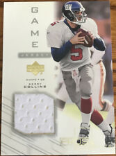 2001 Upper Deck Pros & Prospects Game Jersey Kerry Collins KC-J New York Giants