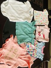 Baby girl clothes lot 18 Months 6 Pieces Condition Is Used