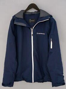 Men Peak Performance Jacket Hipe Core Skiing Snowboarding Waterproof L XIK393