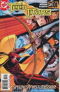 Teen Titans #21 (2005 3rd Series) NM, Dr. Light, New Speedy's First Mission