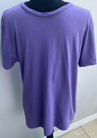 Men's T-shirt Size M Purple H&M <MM1071