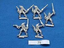 Classic Eldar Striking Scorpions x 5   Metal Miniature OOP Warhammer 40k - GW